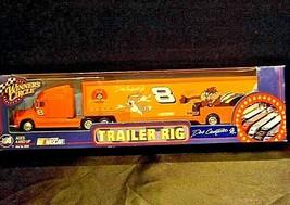 NASCAR Dale Earnhardt Jr. #8 Trailer Rig Die-Cast Collector Orange AA19-NC8003 image 2