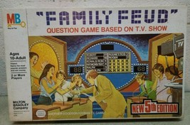 1978 MILTON BRADLEY MB FAMILY FEUD BOARD GAME complete Second Edition Vi... - $18.70
