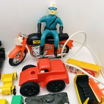 Vintage Toys Lot Tanks Trains Parts Rare 1960-1970's The Bottom of The T... - $34.65