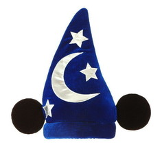 Mickey Mouse Deluxe Licensed Wizard Hat Sorcerer Fantasia Costume Access... - $19.34