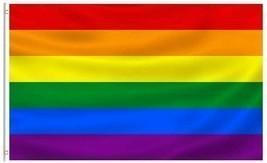 Progress Pride Large Flag 3x5FT Gay Lesbian LGBTQ Community Trans Color ... - £4.98 GBP