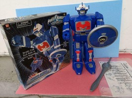 BANDAI Power Rangers Space Jumbo Astro Megazord Figure Doll Used Rare - $199.99