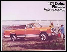 1976 Dodge Pickup Truck Brochure - $8.11