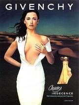 Perfume 2000 AD Sensual Organza Indecence Givenchy Fragrance Beauty Ad - $14.99