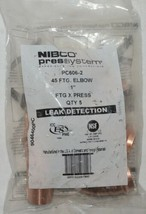 Nibco Press System PC606 2 45 FTG Elbow Quantity Five Per Package image 1