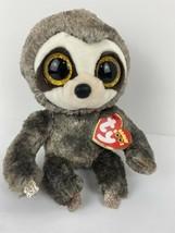 "TY Beanie Boos Buddy 8"" Medium DANGLER Sloth Plush Stuffed Animal Toy Heart Tags - $12.82"