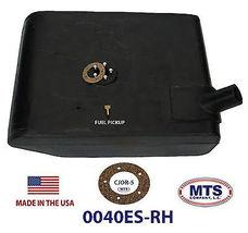 PLASTIC FUEL TANK MTS 0040ES-RH FITS 45-64 JEEP CJ (UNDER PASSENGER SEAT) image 3