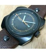 Diesel DZ-1239 Mens 100m Titan-Black Steel Analog Quartz Watch Hours~New Battery - $45.59