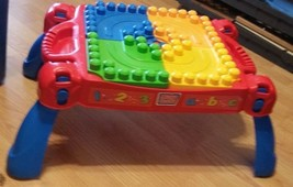 Lego Table Kids Portable Folding Development Activity Training Toy   - $29.59