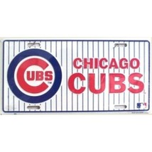 Chicago Cubs Metal License Plate - Brand new in... - $9.49