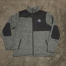 Fossa Mens L NCAA 2018 Division I Football Championship Gray Fleece Jacket - $34.99