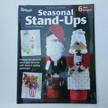 Plastic Canvas Seasonal Stand-Ups Designs by Debra Arch - $11.63