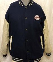 Logo Athletic San Diego Padres Varsity Jacket Sz Medium SD Petco Baseball MLB - $168.29