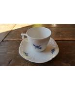 Vintage Rosenthal Teacup and Saucer - $23.76