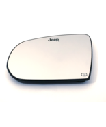 Fits 17-18 Jp Compass Left Driver Heated Mirror Glass & Holder OE (2 Opt... - $23.71