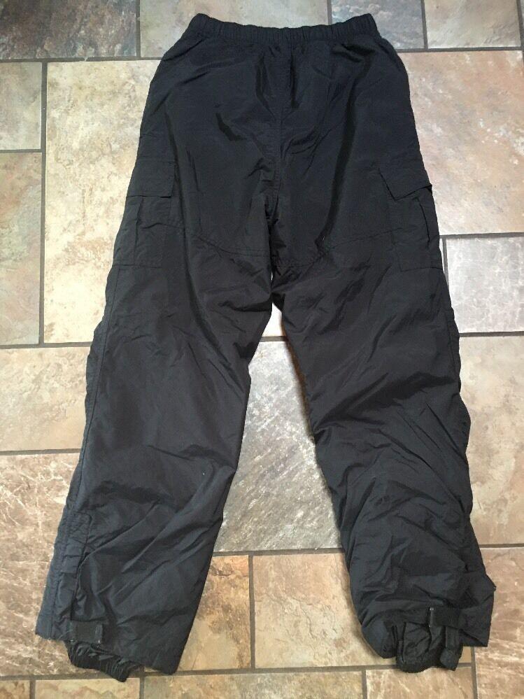 Boys Rawik Black Snow/Ski Pants Sz L Inseam Inseam 27 Euc SP