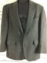 Pendleton 100A% Virgin Wool Tweed Blazer Size 42 Long Mens - $48.00