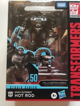 Transformers Toys Studio Series 50 Deluxe Hot Rod Last Knight WWII NEW in Box - $24.74
