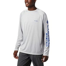Columbia Men's PFG Terminal Tackle Long Sleeve Tee - Tall , Cool Grey, V... - $39.99
