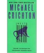Michael Crichton, Next A Novel, Harper Collins Paperback, 2006 - $2.25