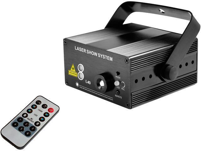 Blackmore Electronics BDL-3040 Blackmore Disco And Laser Lights, Black