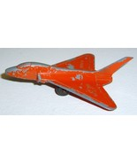 Vintage TOOTSIETOY Navy Jet Airplane - Red Painted Lead - £9.66 GBP