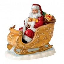 Royal Doulton Santa's Sleigh HN 5689 2014 Christmas Figure of Year New I... - $210.38