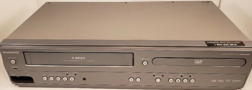 Magnavox MWD2206 Dvd Vcr Combo Player 4 Head and 50 similar