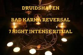 Karma Spell, reverse bad Karma and send dark energy back, magic spells m... - $37.00