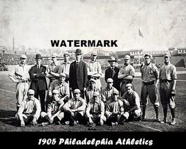 MLB 1905 Philadelphia Athletics Black & White Team Photo 8 X 10 Pic - $9.99