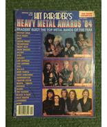 Hit Parader's Heavy Metal Awards '84 Spring 1985 Van Halen Crue Sabbath ... - $14.65