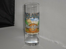 Hard Rock Cafe Shot Glass Shooter Orlando Florida IN COLOR  - $9.89