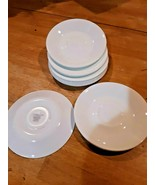 """Lot of 12 6""""  Corelle  by Corning Ware WHITE Coffee Cup SAUCERS Only - $29.69"""