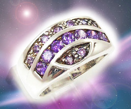 HAUNTED RING ILLUMINATI MIRROR REFLECTION OF THE SOUL MYSTICAL TREASURES MAGICK - $700.77