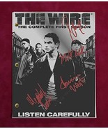 The Wire TV Script w/Reproduction Signatures West, Williams, Pierce C3 - $33.20