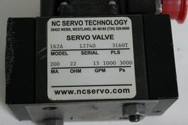 NC Servo Technology 162A 3160TPLS Servo Valve 200MA 22OHM 15GPM 1000-3000PSi New image 2
