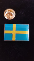 sweden Lapel Pin Badge / tie pin. in gift box enamel finished