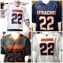 Nike Syracuse Orange Lacrosse Jersey Large White NWT Premium - $16.83