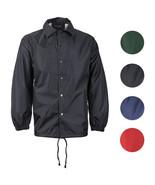 Renegade Men's Lightweight Water Resistant Button Up Windbreaker Coach J... - $22.95