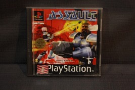 Assault (Sony PlayStation 1, 1998) Vodeo Game PSX PS1 PAL - $39.69