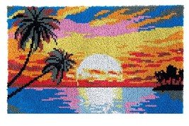 Sunset Rug Latch Hooking Kit (85x58cm) - $75.99