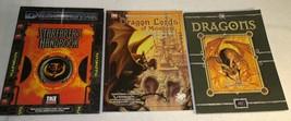 D20 System 2001 Dragons 2001 Dragon Lords Melnibone 2001 Dragonstar Star... - $29.02