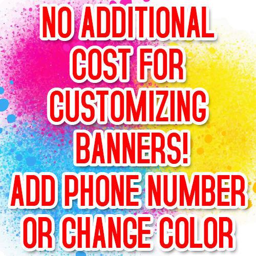 SUMMER SALE Advertising Vinyl Banner Flag Sign Many Sizes USA