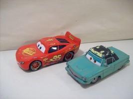 LOT OF 2 DISNEY CARS 3 RUST-EZE DIE CAST CARS RUSTY & LIGHTNING MCQUEEN - $10.73