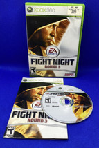 Fight Night Round 3 (Microsoft Xbox 360, 2006) CIB Complete, Tested, Working! - $5.38