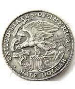 1918 Illinois Statehood Centennial Half Dollar USA American Casted Coin - €10,07 EUR