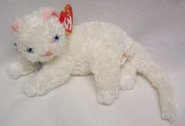 """TY 2001 Beanie Baby STARLETT THE WHTIE CAT 8"""" Plush STUFFED ANIMAL Toy NEW - $14.85"""