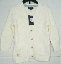 Polo Ralph Lauren Girls Elbow Patch Boyfriend Cardigan Size 3/3T - $22.36