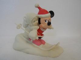 "Disney/Dept. 56 Snowbabies ""Minnie's Special Delivery"" Figurine  - $25.00"