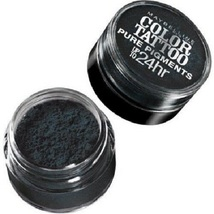 Maybelline New York Eye Studio Color Tattoo Pure Pigments Black Mystery ... - $12.99